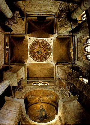 Paracclesion in the church of the Virgin Pammakaristos, Istanbul
