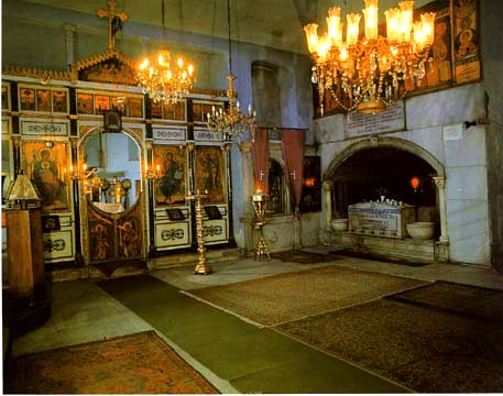 Interior view of the Church of Panagia of Blachernae, Istanbul