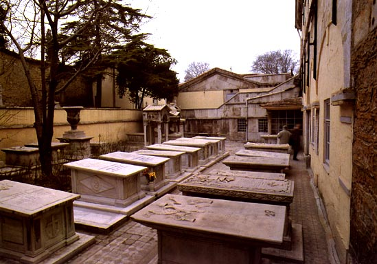 Graves of the Ecumenical Patriarchs at Zoodochos Pege, Istanbul
