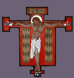Our Savior on the Most Holy Cross