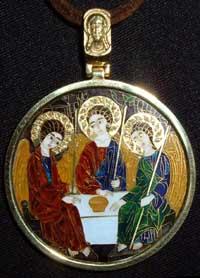 Cloisonne enamel icon