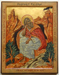 The Prophet Elijah in the Desert