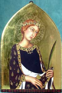 Icon Saint Catherine of Alexandria