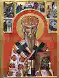 St. Bassilus of Ostrog by icon-painter Boris Markus