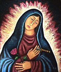 Our Lady of the Rose (Our Lady of Sorrows)