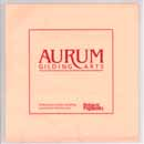 Aurum Aluminum Leaf (Book) Size 5.5 x 5.5 in.
