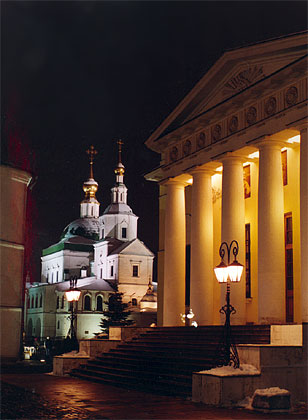Daniilovsky Monastery in Moscow, residence of the Patriarch