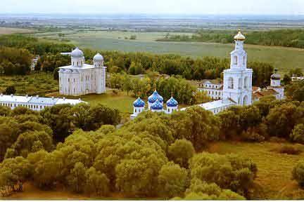 Jurev Monastery in Novgorod