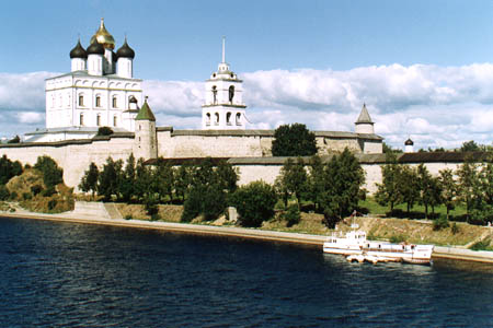 Pskov Kremlin and the Trinity Cathedral