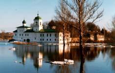 12th Century Mirozhsky Monastery in Pskov
