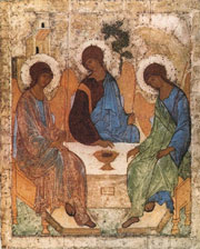 Andrei Rublev's masterpiece the Trinity