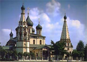 17th century Church of St. Elijah the Prophet in Yaroslavl